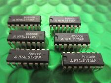 5 x M74LS173AP, Rare IC by Mitsubishi, SN74LS173N, 74LS173,