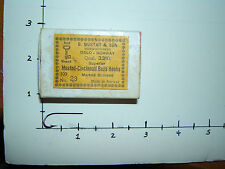 MUSTAD HOOK--3310=CINCINNATI BASS HOOK=NO EYE=BRONZE=SIZE 23=100 COUNT=FREE SHIP
