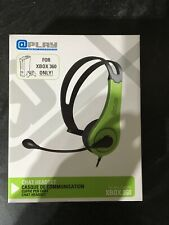 XBOX 360 @play OFFICIAL WIRED CHAT HEADSET W/ BOOM MIC