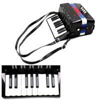 Kids Children 17-Key 8 Bass Mini Small Accordion Educational Rhythm Band Toy USA