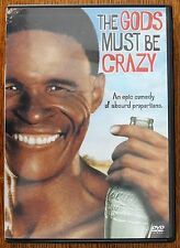 The Gods Must Be Crazy (DVD, 2004) 1980-Mint Disc-OOP-Region 1, N!xau Rare  LZ