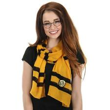 HARRY POTTER Licensed HUFFLEPUFF House Sigil SCARF Lightweight COSPLAY Prop
