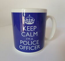 Keep Calm I'm a Police Officer Mug Carry On Retro Gift Cup Policeman Policewoman