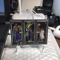 2004 Topps Matrix LeBron James/ Chris Bosh/ TJ Ford Card (Lakers MVP)