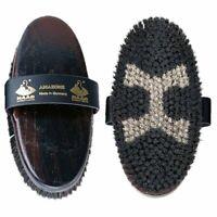 HAAS Amazone Brush, Horse Brush for Shiny Coats & Circulation