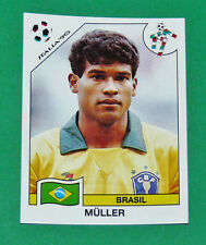 N°209 MÜLLER BRESIL BRASIL PANINI COUPE MONDE FOOTBALL ITALIA 90 1990 WC WM