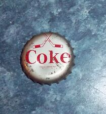 Coke Caps Hockey 1964-65 Crossed Sticks Team Detroit Red wings