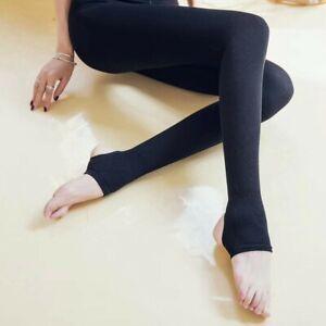 Clerance-  Leggings Winter Wool Black