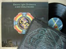 ELO A New World Record + Inner A-2U B-1U Embossed UK LP Jet UAG 30017 1976 EX/EX