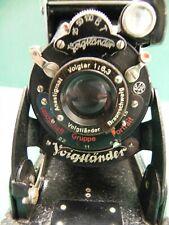Fotoapparat Kamera Balgenkamera Faltkamera von Voigtländer