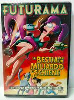 Futurama La Bestia Con un Miliardo di Schiene DVD Nuovo Sigillato