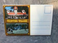Frontier Village Amusement Park San Jose park fold out postcard booklet