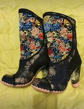 Irregular Choice Hiccup Boots, Size 39