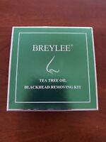 Blackhead Remover, BREYLEE 3 in 1 Blackhead Removing Kit Tea Tree Oil Blackhead