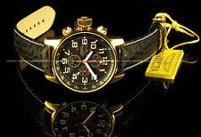 Invicta Men's I Force Lefty  VD57 Chronograph Leather Strap Superluminova Watch