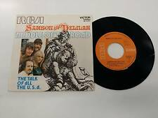 MIDDLE OF THE ROAD SAMSON AND DELILAH - TALK TALK OF ALL U.S.A. 7'' 45 GIRI 1972