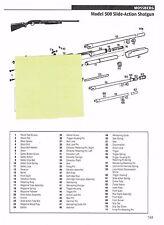 MOSSBERG 500, 5500 MARK II AUTOLOADING SHOTGUN  Exploded View/Parts List 2011 Ad