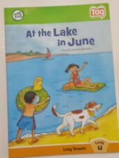 Tag Leap Frog Reader Book Long Vowel u At The Lake in June