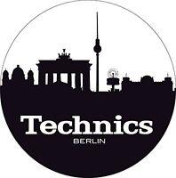 Technics 60612 PAIR Slipmat Skyline Berlin High Quality Original DJ / Brand New