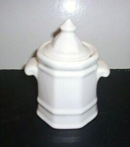 Pfaltgraff Sugar Bowl with Lid White