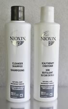 Nioxin system 2 kit CLEANSER SHAMPOO (300ML), SCALP THERAPY CONDITIONER (300ML)
