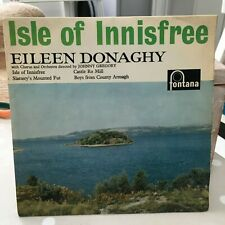 "EILEEN DONAGHY ISLE OF INNISFREE IRISH FOLK POP 7"" VINYL"