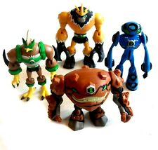 Oficial Cartoon Network Ben 10 dibujos animados Trabajo Lote de Figuras de juguete, Buen Estado.