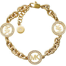 Michael Kors Ladies Bangle Bracelet MKJ4729710 Yellow Gold