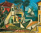 Print - Mediterranean Landscape, 1953 by Pablo Picasso