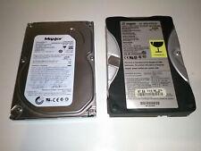 """Coppia di Hard Disk 3,5"""" Seagate EIDE 10,2 GB + Maxtor SATA 160 GB"""