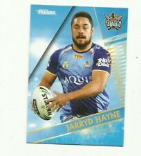 2018 NRL Traders GOLD COAST TITANS JARRYD HAYNE 044 COMMON CARD FREE POST