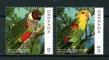 Grenada 2013 MNH Parrots Definitives 2v Set Conures Amazons Birds Stamps