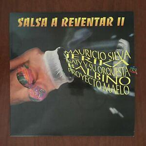 Salsa A Reventar 2 [1995] Vinyl LP Naty y Su Orquesta Latin Salsa  Guaguanco Son