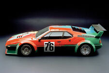 1979 BMW M1 ANDY WARHOL ART CAR POSTER PRINT 24x36 HI RES