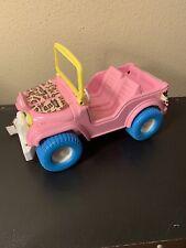 Barbie Vintage PINK Jeep Animal Lovin Adventure
