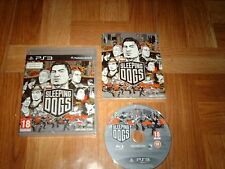 SLEEPING DOGS...jeu complet...sur PS3