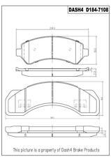 Disc Brake Pad Set-Metallic Pads Front,Rear Pronto PMD184