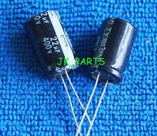 5pcs 22uF 400V 105°C Radial Electrolytic Capacitor 13x21mm