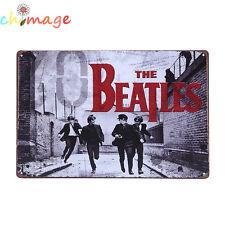 THE BEATLES  vintage Tin Sign Bar pub home Wall Decor Retro Metal art Poster