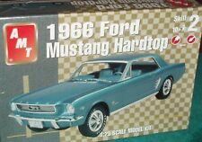 AMT 1966 FORD MUSTANG HARDTOP  PLASTIC MODEL KIT 1/25 SKILL LEVEL 2