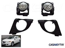 NEW Pair 2009-2010 ACURA TSX FOG LIGHT LAMP W/BULBS FOGLIGHT FOG LAMP CU2 FHT