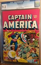 Alan Light flashback #29 reprint of Timely Captain America #2 CGC 9.2 w pgs HGC