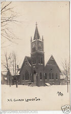 RPPC - Ladoga, Ind. - Methodist Episcopal Church - early 1900s