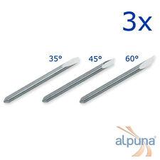 3 Plottermesser 35° Offset 0,45 f Summa D Summagraphics - ALPUNA Qualitätsmesser