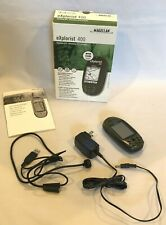 Magellan eXplorist 400 Handheld GPS Hiking Geocache 14 channel Water Resistant