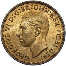 More details for 1950 proof halfpenny - george vi british bronze coin - superb
