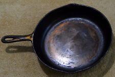 VINTAGE 1930'S BIRMINGHAM STOVE & RANGE BSR 8T CAST IRON PAN SKILLET W/IRON MNT