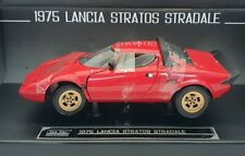 Sunstar 1/18 Scale Model 4521 - 1975 Lancia Stratos Stradale - Red