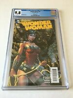 Wonder Woman 36 CGC 9.8 NM/MT 1:100 Finch Variant Swamp Thing 1st Print New Case