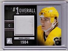 MARIO LEMIEUX /14 ITG 2014 Draft Prospects #1 Overall Jersey #d 05/10 SP SILVER